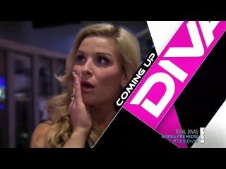 WWE Total Divas S01 E01 �� �������